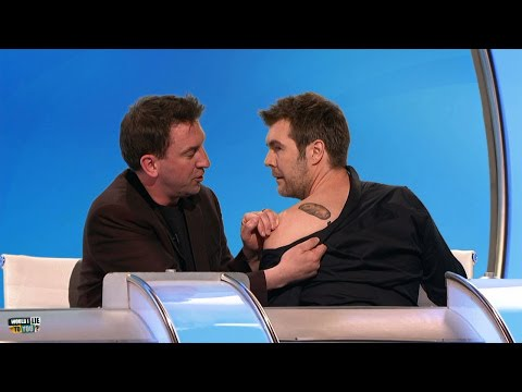 Outen about getting tattoos - Would I Lie to You? [HD] [CC]