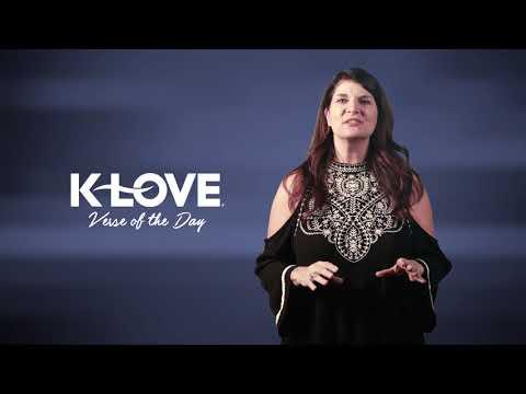 K-LOVE's Verse of the Day: John 15:5