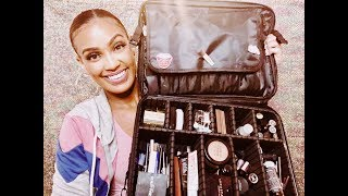 What's In My Freelance Makeup Kit 2019+ Amazon Travel Makeup Case✨