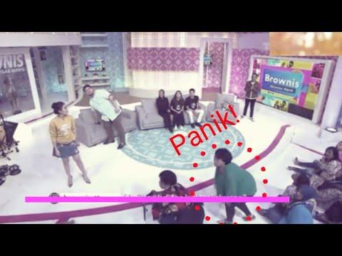 PENONTON PANIK..!! Gempa Banten Terasa di studio Live Acara TV