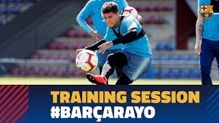 Goals galore in the final session before the visit of Rayo