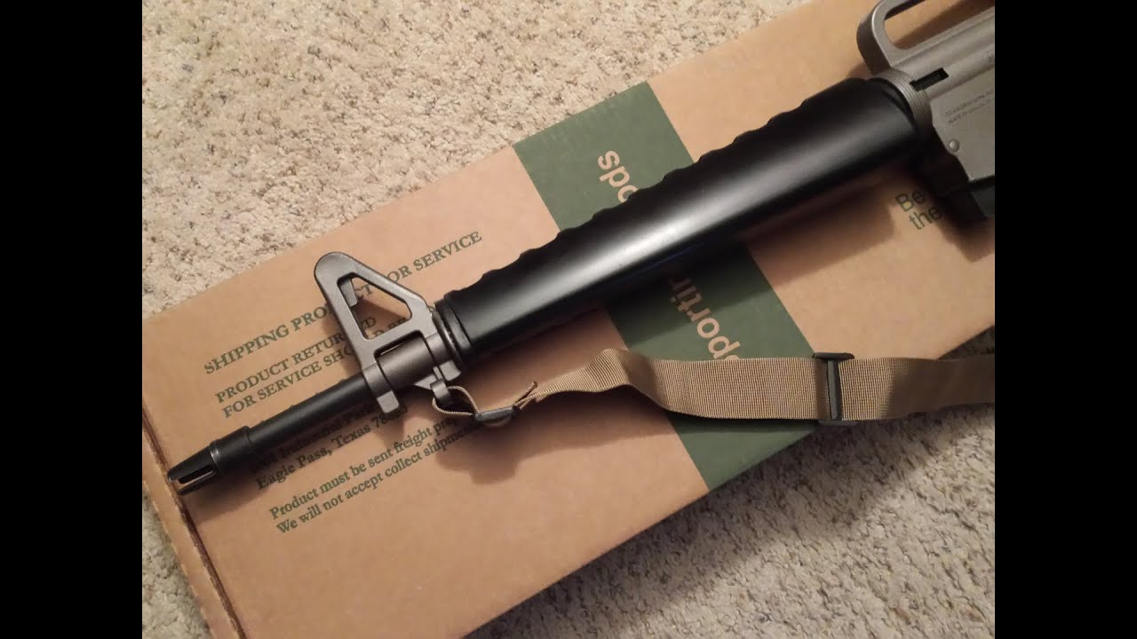 Mossberg 715T to M16 Mod