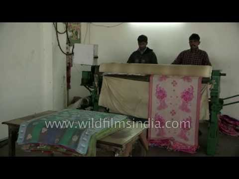 Textile manufacturing industry in India