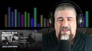 Metal Biker Dude Reacts - Beastie Boys Check Your Head (3/4 Length)