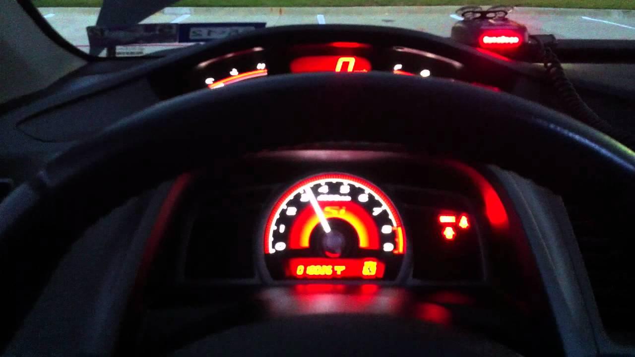 Elegant My Black 2010 Civic Si Coupeu0027s Engine Video   YouTube