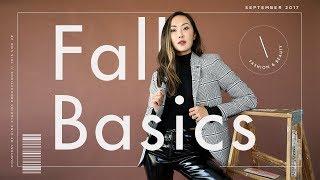 Fall Basics that Last a Lifetime   Chriselle Lim thumbnail
