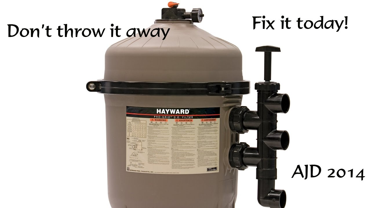 De Filter Grid Repair Don T Throw It Away Fix It Today