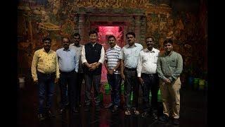 CTA President Dr. Lobsang Sangay Arrives in Aurangabad