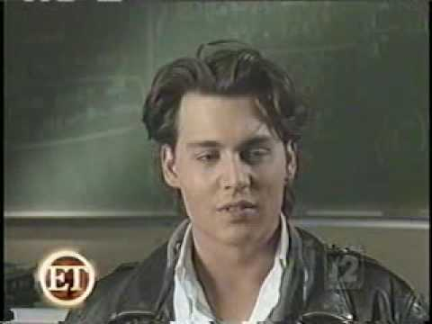 Johnny Depp - Before they were stars (about 21 Jump Street)