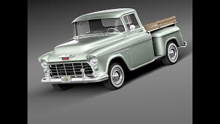 Обзор модели Chevy Pik-Up.Самодельные ремни безопасности.