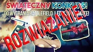 Wygraj Battlefield 1 Edycję Ultimate! - Rozwiązanie! - Świąteczny konkurs z Battlefield 4