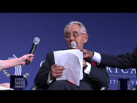 """Jobs Jobs Jobs"" CGI America panel hosted by President Bill Clinton"