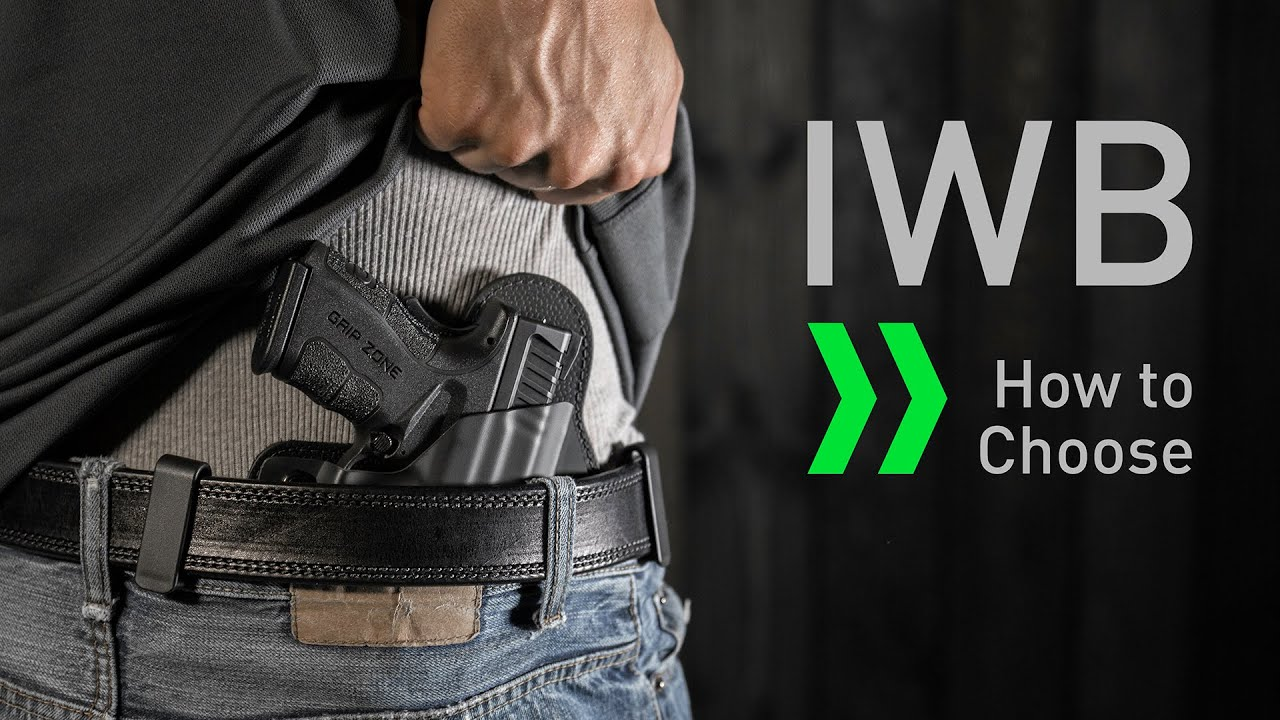 Best IWB Holster For Big Guys [Our Recommendations