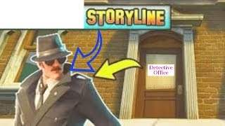 FORTNITE Detective Storyline this Weeks Skin