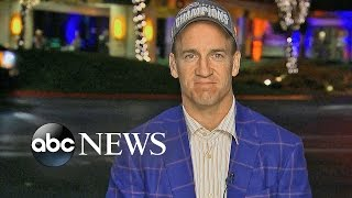 Peyton Manning Describes Super Bowl 50 Victory