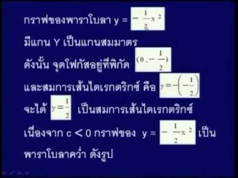 96102 คณิตศาสตร์และสถิติสำหรับวิทยาศาสตร์และเทคโนโลยีบทที่2
