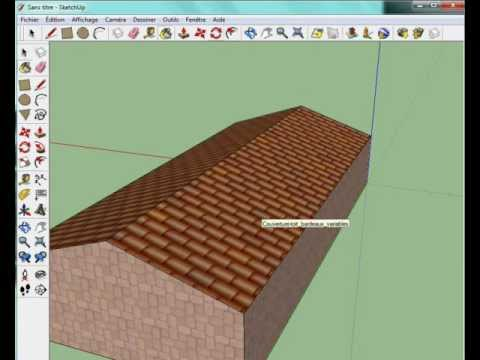 tuto comment construire une maison sur google sketchup youtube. Black Bedroom Furniture Sets. Home Design Ideas