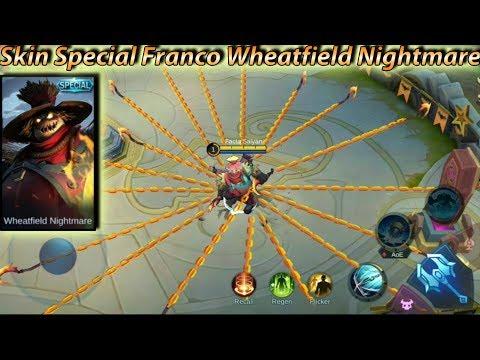Franco No Cooldown Skills Skin Special Wheatfield Nightmare - Mobile Legends