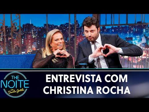 Entrevista com Christina Rocha  The Noite 200519