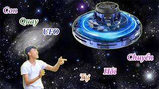 Con Quay UFO Phản Lực Tự Hồi Chuyển 175K Chơi Phê Hơn Cả Máy Bay Điều Khiển |