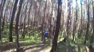 "Просмотр трассы redBike cup 2014: ""Dark Forest Ride"""