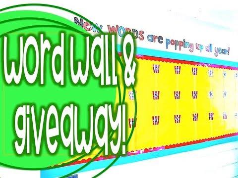 Setting Up my Classroom: Day 5 & 6 and SPONSORED GIVEAWAY!