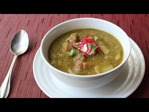 Chili Verde Recipe - Easy Pork & Tomatillo Stew - How To Make Green Chili
