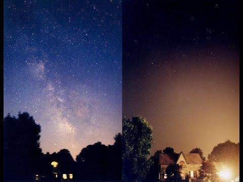 El cielo perdido la contaminacin lumnica Liga de la Ciencia 24617 -  YouTube