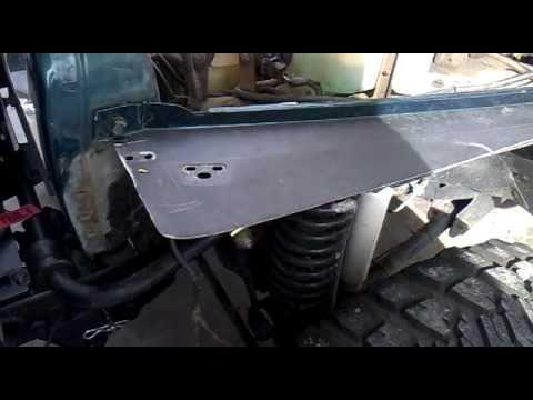 Jeep Wrangler Fenders >> installing Smittybilt tube fenders part 1 - YouTube
