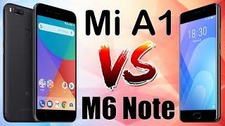 Xiaomi Mi A1 vs Meizu M6 Note сравнение, тест камер.