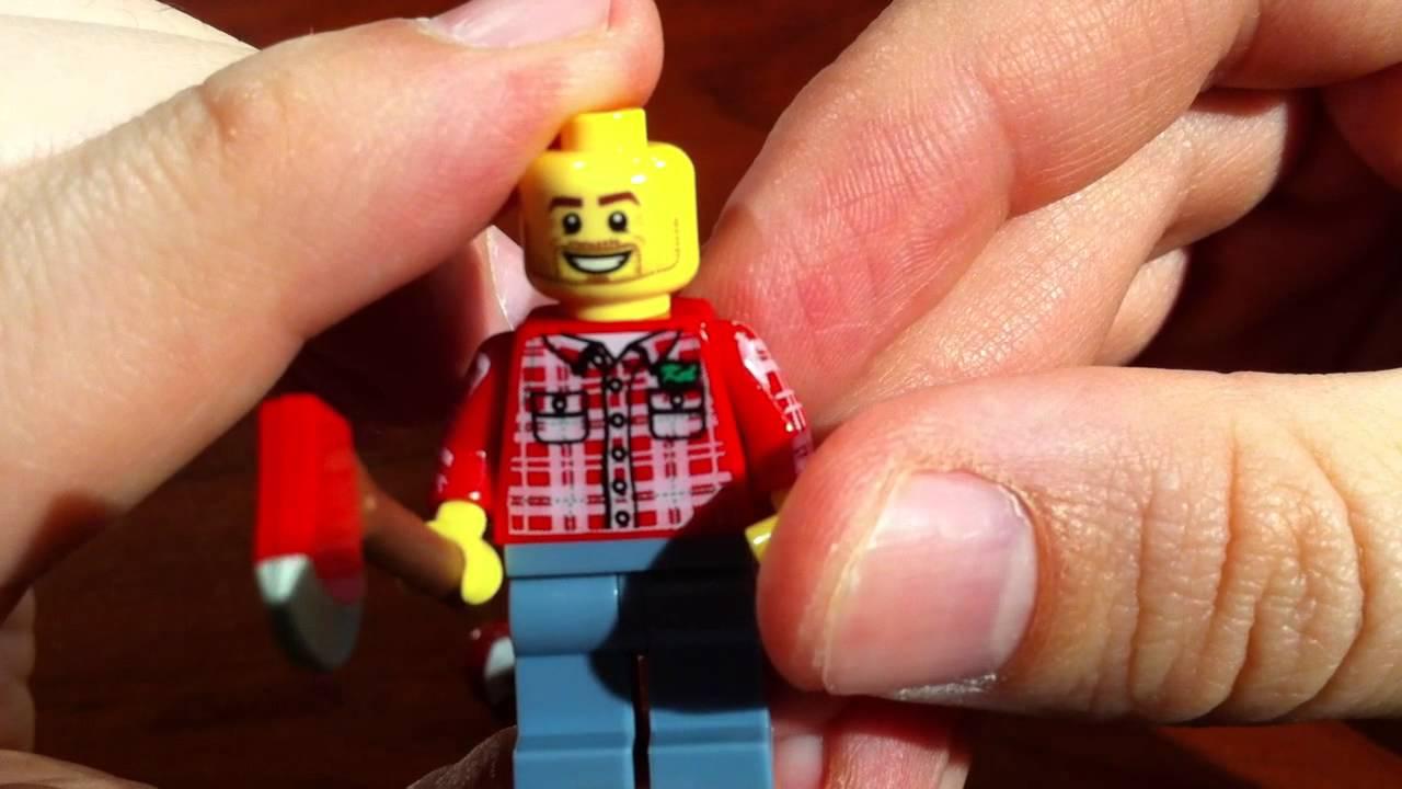 LEGO 8805 Minifigure Collection Series 5 Lumber Jack Minifigure