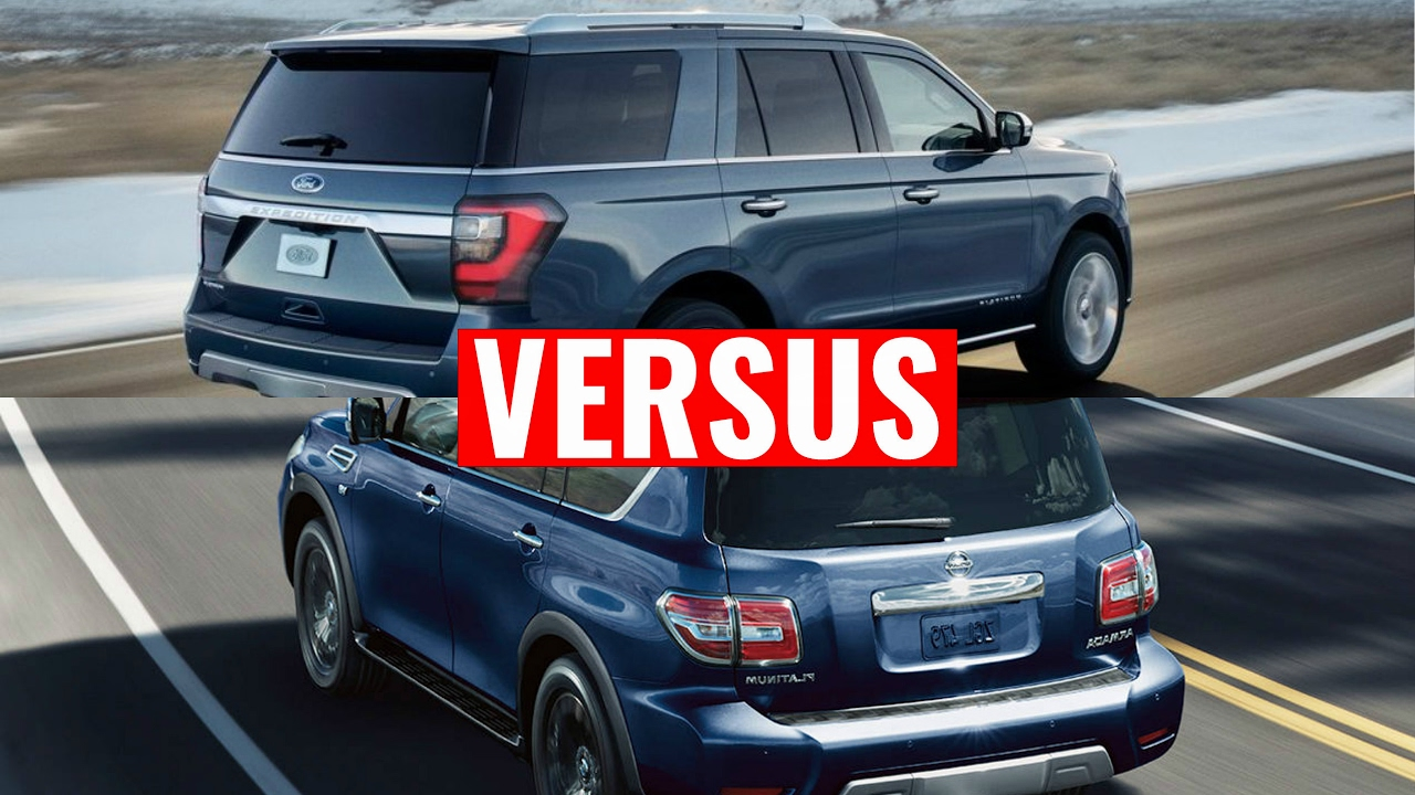 2018 Ford Expedition Vs Nissan Armada Suv Youtube