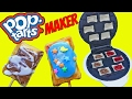 POP TARTS MAKER DIY Pop Tart Recipe Mini Dessert Pie Pastries Chocolate & Berry by DisneyCarToys
