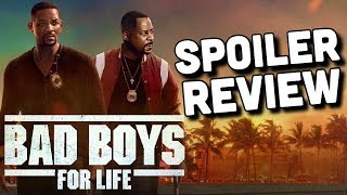 Bad Boys For Life SPOILER REVIEW (Masterpiece)