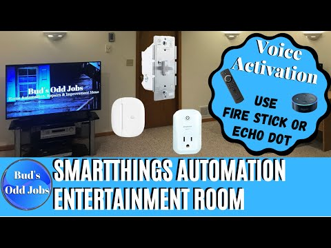 Easy Smart Home Automation with SmartThings Classic App - TV Time Routine