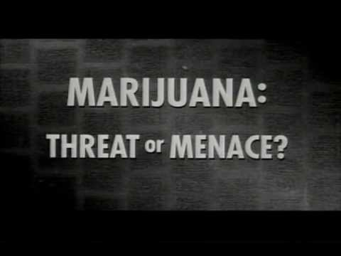 Marijuana: Threat or Menace? (Hilarious old drug propaganda clip!)