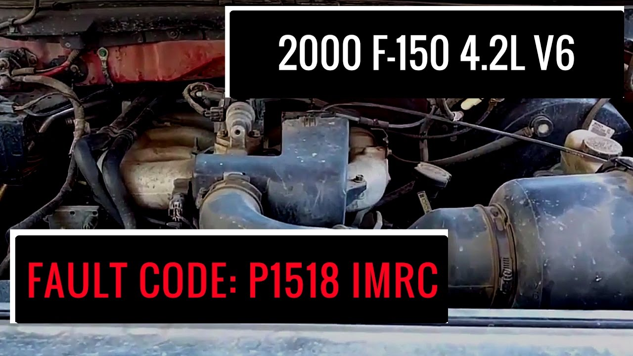 2000 F 150 42l V6 Fault Code P1518 Imrc Youtube 2004 Ford Pcm Location