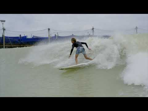 Jackson Dorian's Backside Tube Riding at Kelly Slater's Surf Ranch Is So Awesomely Casual