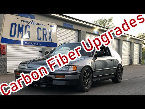 OMG CRX Gets More Carbon Fiber Goodies...