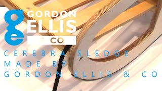 Cerebra Sledge Made By Gordon Ellis & Co
