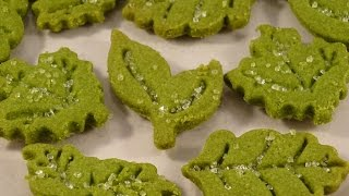 Green Tea (matcha) Shortbread Cookies- With Yoyomax12