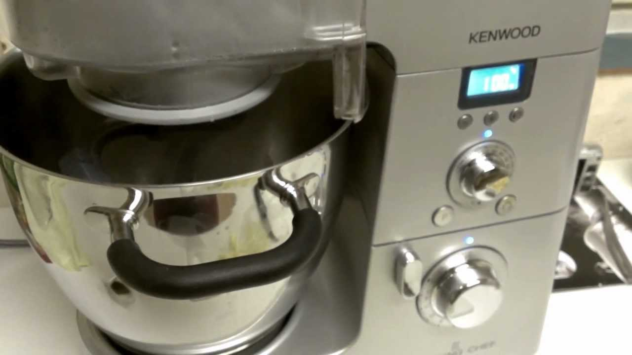 Kenwood Cooking Chef und Risotto - YouTube