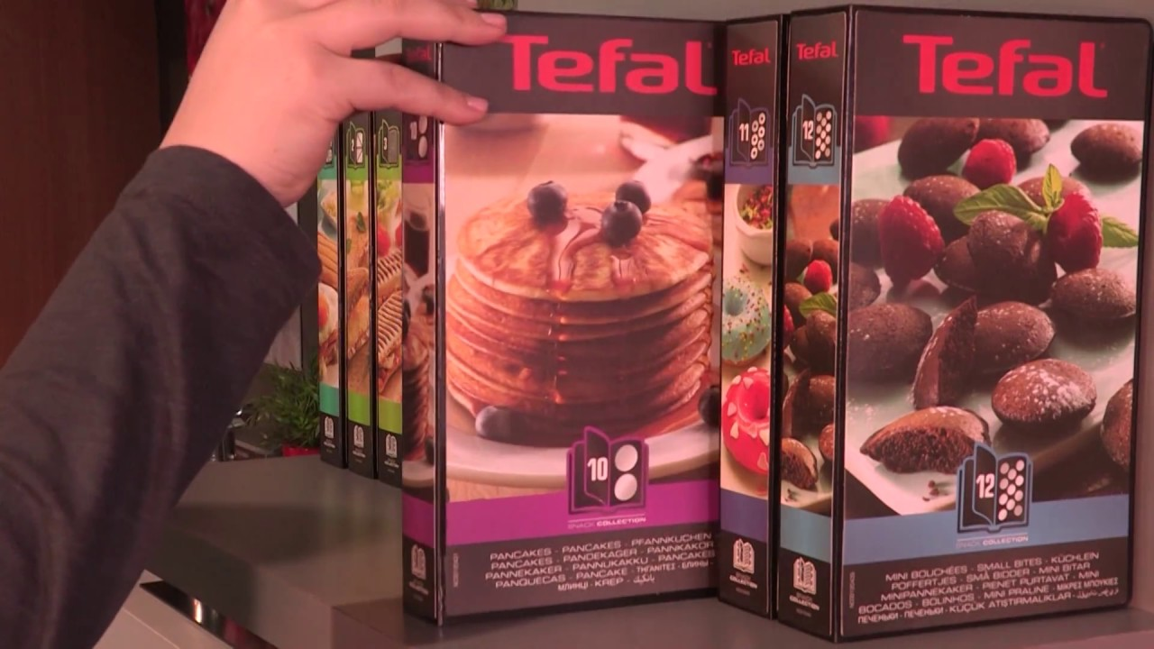 tefal snack collection pancakes 10 youtube. Black Bedroom Furniture Sets. Home Design Ideas
