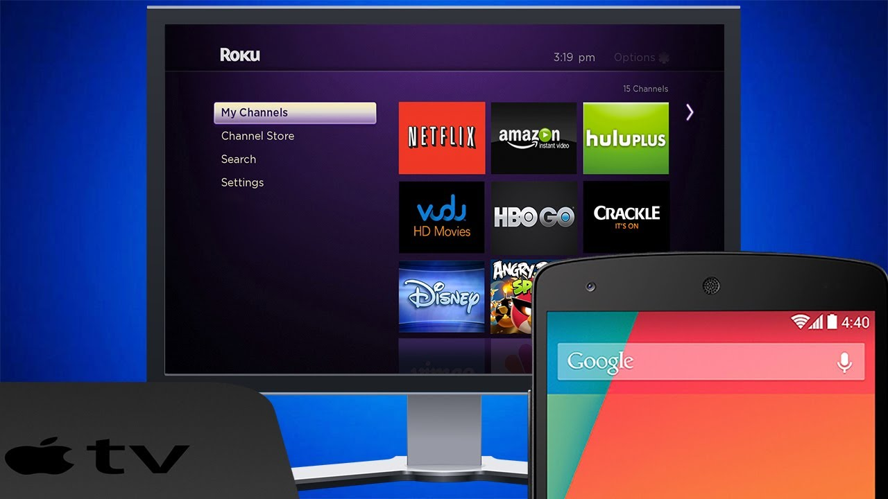 Stream Videos from Android to Roku Player/Xbox One/Apple TV and more!