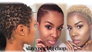 Styling Short Natural Hair 11 Ways!   Hairstyles for BIG CHOP + TWA    Nia Hope