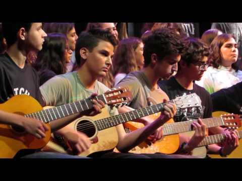 Hotel California - Eagles by NSU University School Chorus & Guitar Ensemble