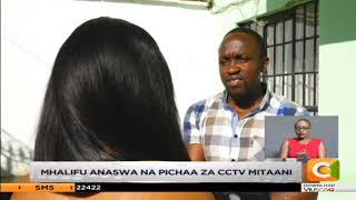 Mhalifu anaswa na pichaa za cctv mitaani akiiba kwa kupanda kuta na madirisha
