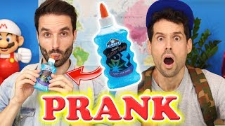 UN POT DE COLLE COMESTIBLE - PRANK BACK TO SCHOOL - CARL IS COOKING