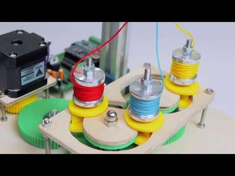 DIY Braiding Machine | Arduino Based Machine