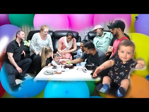 OUR BABY NOAH IS ALREADY 6 MONTHS OLD | Celebration With Our Families